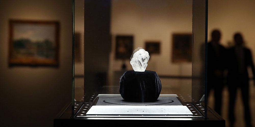 Огромный алмаз не удалось продать на Sotheby's