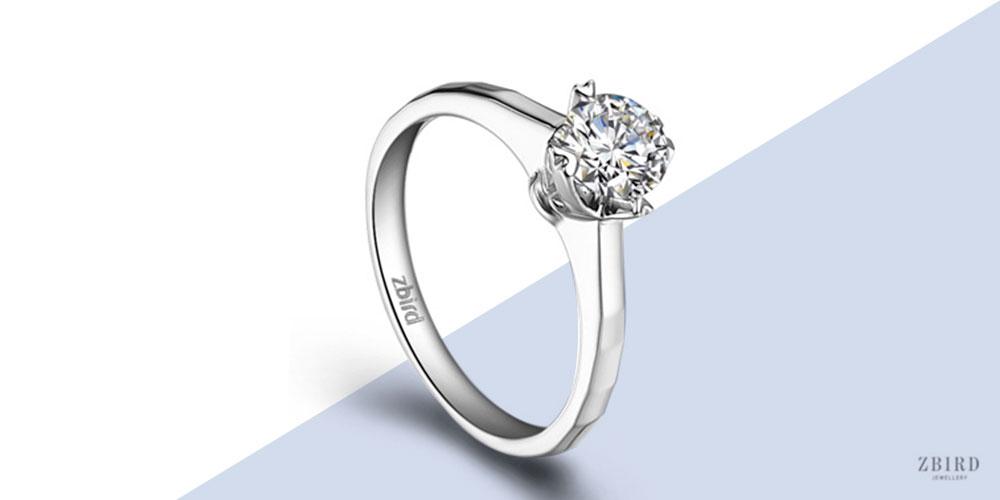 Эксклюзивное кольцо для помолвки