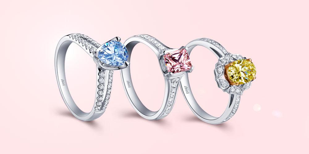 Кольцо для помолвки с большым камнем