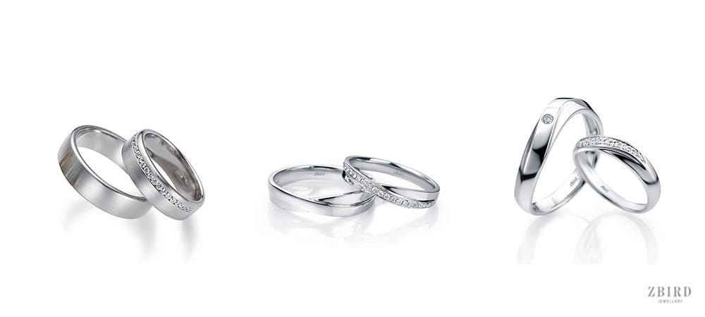 Обручка доріжка діамантів