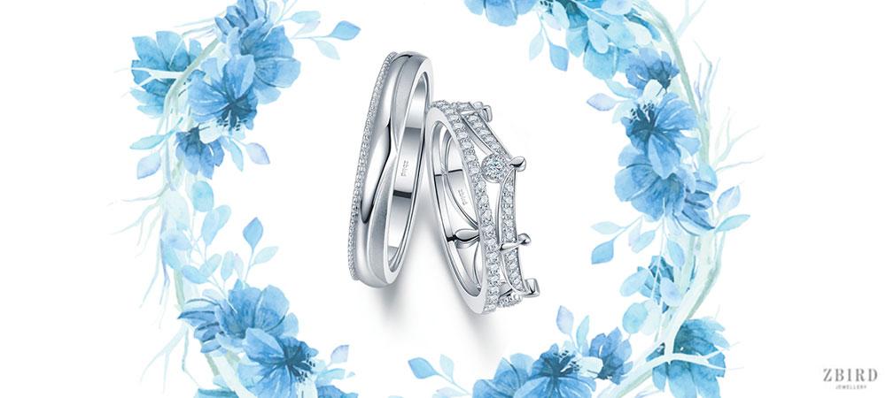 Обручальное кольцо корона