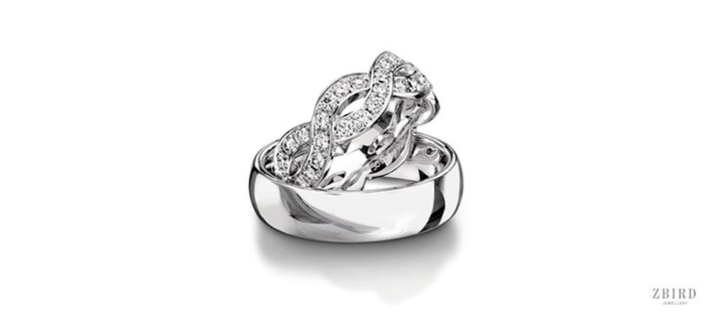 Обручальное кольцо женское фото