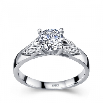 Выбираем кольцо с бриллиантом в интернет-магазине ZBIRD