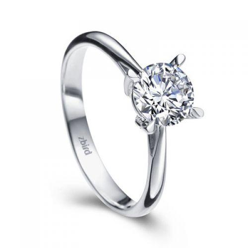 Купить кольцо для помолвки Crazy Love с бриллиантом 0,2 карата - Zbird 05fcc78738c
