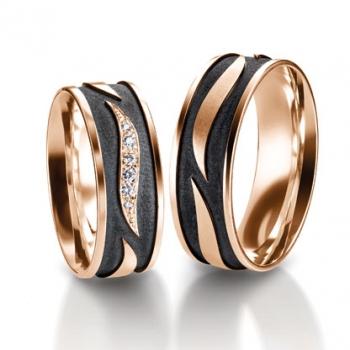 4b364b08d1e8 Золотое Обручальное кольцо с бриллиантом (арт. WRFJ01), купить в ...