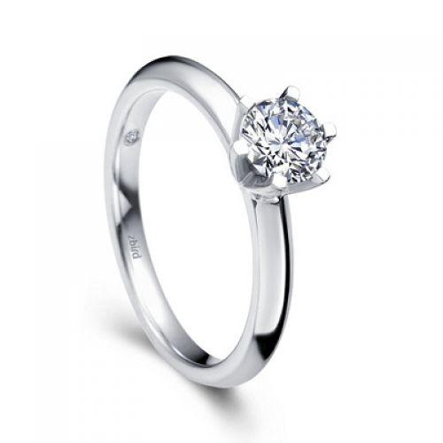 Купить помолвочное кольцо Diana с бриллиантом 0,2 карата - Zbird 886a5c7d3e5