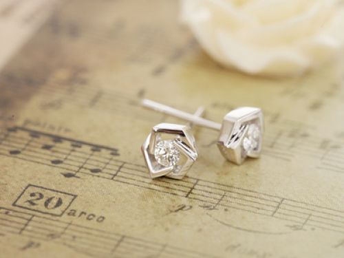 Серьги ''PRINCESS  Earrings'' EK188/0,18/В
